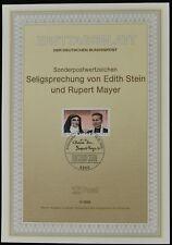 West Germany 5/1988 Stein & Mayer, Ersttagsblatt
