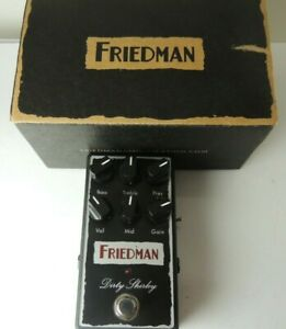 Friedman Amplification Dirty Shirley Overdrive Effects Pedal Free USA Ship