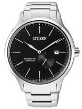 Citizen Automatik Herrenuhr analog mit kleiner Sekunde, Titanband NJ0090-81E