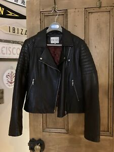 Reiss Leather Jacket L