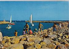 BF19792 valras plage herault l embouchure de l orb la di france front/back image