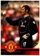 Raimond Van Der Gouw Man. United #18 Upper Deck 2001 Football Trade Card (C361)