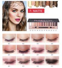 12 Colors Shimmer Or Matte Eyeshadow Makeup Palette Long Lasting Eye Shadow US