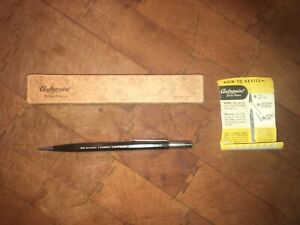 Vintage Autopoint Mechanical Pencil  w/ Box & Instructions. MIlwaukee Foundry...
