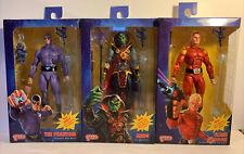 Neca Defenders Of The Earth #1 2 & 3 The Phantom Flash Gordon Ming Set of 3 Lot