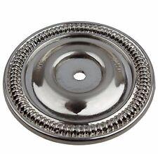 "5060-SN- 2-1/2"" Round Ring Back Plate Cabinet Hardware - Satin Nickel"