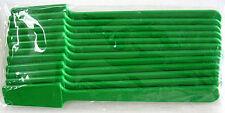 Large Plastic Spatulas Green 12pk