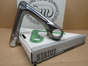 NOS 3T Status Quill Stem w/Gray Finish (25.8/26.0 mm clamp x 130 mm)...Blemishes