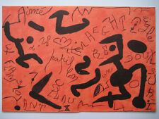 MIRO JOAN LITHOGRAPHIE ORIGINALE DLM 1982 DERRIÈRE LE MIROIR N°250 LITHOGRAPH