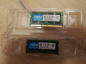 Crucial 8GB DDR3L 1600 (PC4-12800) Mémoire RAM - CT102464BF160B