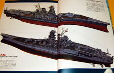 History of development of the warship in Japan book japanese ww1 ww2 rare #0137
