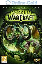 WoW Legion Key - World of Warcraft Add-On - Battlenet Code PC / MAC NEW [EU/UK]