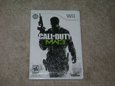CALL OF DUTY MODERN WARFARE 3...NINTENDO WII...**SEALED**BRAND NEW**!!!!!
