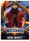 2017 TOPPS WWE Road to Wrestlemania 33 ROSTER #6 BRAY WYATT 50 CENT SHIP