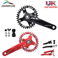 104bcd MTB Bike Crankset BB Narrow Wide Chainring 170mm Crank fit Shimano Sram