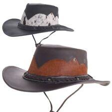 Chapeaux cow-boys/western en cuir pour femme