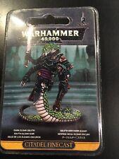 Warhammer 40k Dark Eldar/Drukhari: Sslyth Resin (45-68) NIB