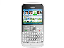Nokia E Series E5-00 - WHITE GPS WIFI (Unlocked) Smartphone