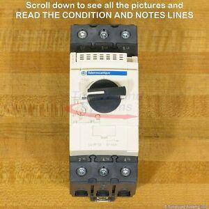 Schneider Telemecanique GV3P50 Manaual Motor Starter, 37-50 Amp, NEW!