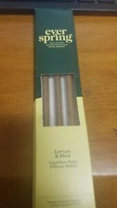 Everspring Reed Diffusers -LEMON & MINT- LIQUIDLESS REED DIFFUSER REFILLS
