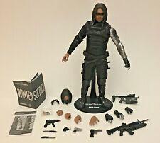 Hot Toys MMS241 Captain America Winter Soldier Bucky Barnes Sebastian Stan US