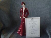 "Royal Worcester Figurine 2008 - ""PURE ELEGANCE"" - RW-  ORIGINAL CERTIFICATE"