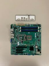Supermicro X10SLM+-F LGA1150 Server Mainboard inkl. Blende
