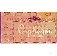Natalie Merchant Concert Ticket Stub Memphis Tn 5/15/99 The Orpheum Theater Rare