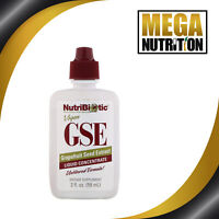 NutriBiotic GSE Grapefruit Seed Extract Liquid Concentrate 59ml | Candida Detox