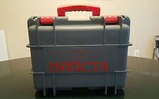 INVICTA TEAL RED 8-SLOT COLLECTORS DIVE WATCH CASE BOX PELICAN STYLE CASE BOX