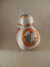"""Disney Star Wars BB 8 Droid plush 8"""" Lucas Films Ltd. Spinning head"""