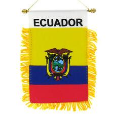 ECUADOR flag automobile rearview mirror or window flag car Home Ecuador pride