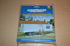 "Scene Master HO Scale Kit ""Mobile Storage Trailer""  NEW SEALED"