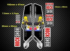 Rock Shox Reba  Style Suspension Fork Decal/Stickers rx39