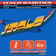 Italo 2000 Rarities-SCOTCH HIPNOSIS Savage Robert Camaro PATTY Ryan NUOVO 2 CD