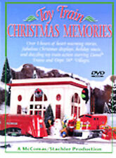 Toy Train Christmas Memories
