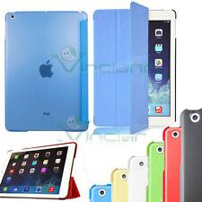 Pellicola+Custodia smart cover retro colorato trasparente pr iPad Air case stand