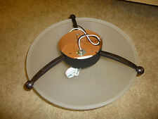 Ceiling surface light fixture 84-9066B-20 with mounting hardware