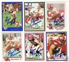 Rocco Romano CFL Signed Card STAMPSBC [*]