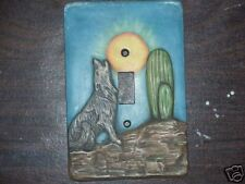 Ceramic mold, Jay-Kay switch plate cover Coyote