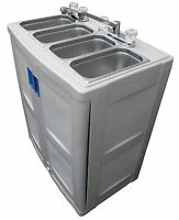 Portable Sink with hot water, freestanding catering sink, portable washer