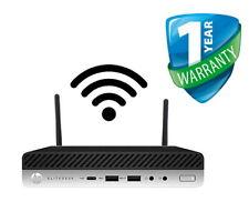 HP EliteDesk 800 G4 65W Mini PC Core i7-8700 8th Gen 32GB RAM 512GB SSD WIFI