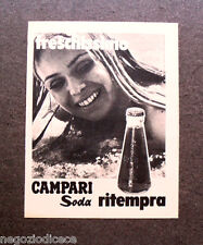 O938 - Advertising Pubblicità -1971- CAMPARI SODA , RITEMPRA