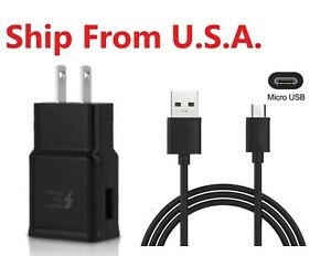 Adaptive Fast Charger Adapter + Micro USB Cable For Amazon Kindle