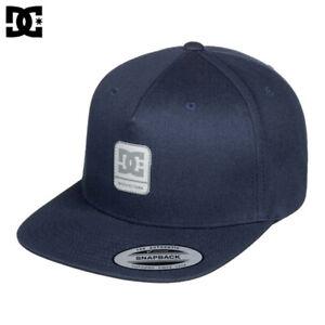 DC Shoes Snapdragger Snapback Baseball Cap Hat Blue OS NWT NEW Skateboard Surf