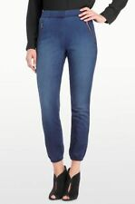 NYDJ Not Your Daughters Jeans Cate Knit Ankle Jeans Track Pants Sz 0 Plano NWT