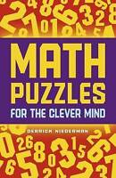 NEW Math Puzzles for the Clever Mind by Derrick Niederman