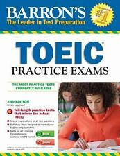NEW - Barron's TOEIC Practice Exams with MP3 CD, 2nd Edition