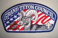 OA GRAND TETON COUNCIL SCOUT PATCH BIGHORN SHEEP JSP 2005 JAMBOREE DELEGATE FLAP
