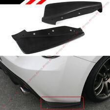 For 2013-16 Scion FR-S FRS / Subaru BRZ CS Style Rear Bumper Aero Side Aprons